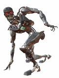 cyborg för hopkrupen ställning 3000 Arkivbilder