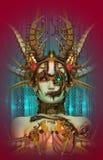 Cyborg Fairytale, 3d CG Stock Image