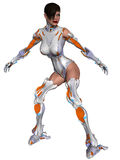 Cyborg femenino libre illustration