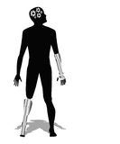 Cyborg , Futuristic man Royalty Free Stock Image
