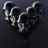 cyborg głowa Zdjęcia Royalty Free