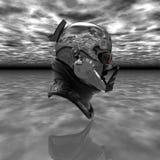 cyborg głowa Zdjęcie Royalty Free