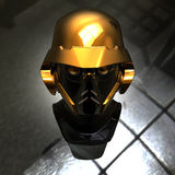 Cyborg head Stock Photography