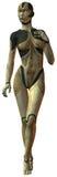 cyborg kobieta royalty ilustracja