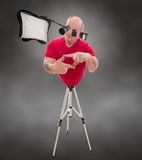 Cyborg Photographer royalty free stock photo