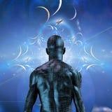 cyborg royalty ilustracja