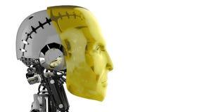 Cyborg or robot Stock Image