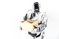 Cyborg soutenant dans la vie quotidienne photos libres de droits