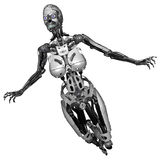 Cyborg woman Royalty Free Stock Images