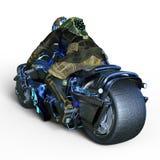 Cyborga jeździec Fotografia Royalty Free