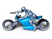 Cyborga jeździec Zdjęcia Stock