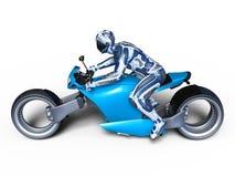 Cyborga jeździec Obrazy Stock