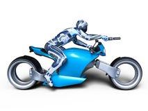 Cyborga jeździec Obraz Stock