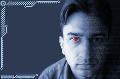 Cyborgbegrepp Royaltyfri Bild