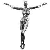 Cyborgfrau Lizenzfreie Stockfotografie