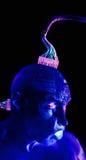 cyborghumanrobot Royaltyfri Foto