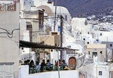 cyclades希腊海岛santorini 库存图片
