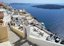 cyclades希腊海岛santorini 库存照片