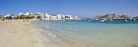 cyclades希腊koufonisia 库存图片