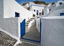 Cyclades architecture Stock Image
