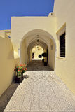 Cyclades island in Greece, Fira Santorini Royalty Free Stock Images