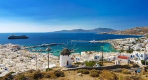 Cyclades Island, Mykonos Royalty Free Stock Image