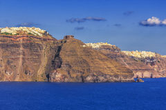 Cyclades Island, Santorini Royalty Free Stock Images