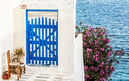 Cyclades style on Milos island Stock Photography