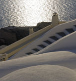 Cycladic architecture Royalty Free Stock Photo