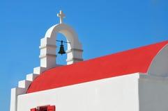 Cycladic church. On island of mykonos Royalty Free Stock Photos