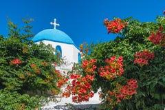 Cycladic greek orthodox church on Paros island, Greece. Cycladic greek orthodox church on Paros island, Cyclades, Greece royalty free stock photo