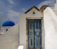 Cycladic village Royalty Free Stock Photography