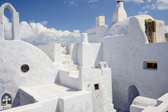 Cycladic village Stock Photo