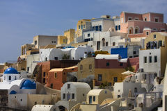 Cycladic village Royalty Free Stock Images