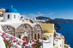 Cycladic village of Oia Royalty Free Stock Photography