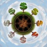 Cycle économique Image stock