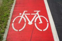 Cycle / Bike route, Bikeway Royalty Free Stock Image