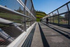 Cycle bridge Royalty Free Stock Image