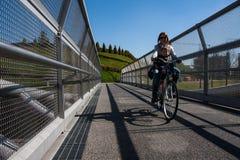 Cycle bridge Stock Photography