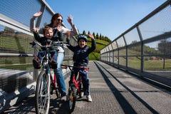 Cycle bridge Stock Images