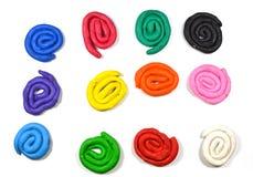 Cycle coloré d'argile Photo stock