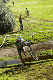 Cycle cross event in Rome Royalty Free Stock Image