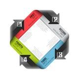 Cycle de flèches Image libre de droits
