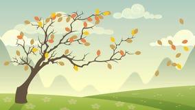 Cycle de saisons illustration de vecteur