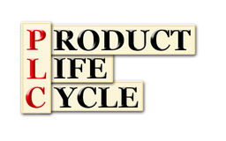 Cycle de vie des produits Images libres de droits