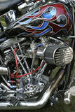 Cycle Details. Close up view of motorcycle details Royalty Free Stock Image
