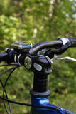 Cycle handlebars Stock Image