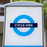 Cycle Hire in London Stock Photo