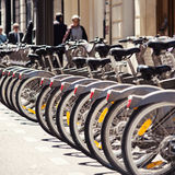 Cycle Hire Royalty Free Stock Photos