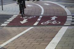 Cycle_lane foto de stock
